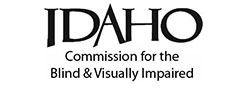 Logo: Idaho Commission for the Blind and Visually Impaired